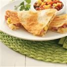 Ham & Mango Quesadillas for Two