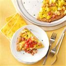 Hawaiian Breakfast Pizza
