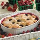 Healthy Blackberry Cobbler