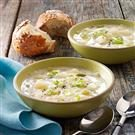 Hearty Leek and Potato Soup
