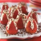 Heavenly Filled Strawberries