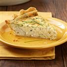 Herb Crab Quiche