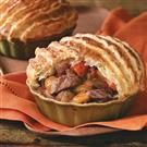 Herbed Beef Stew with Puff Pastry