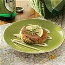 Herbed Cornmeal Crab Cakes