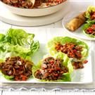Hoisin Turkey Lettuce Wraps