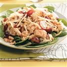 Honey-Mustard Chicken Spinach Salad