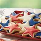 Lemon Nut Star Cookies