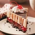 Luscious Black Forest Cheesecake