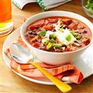 Meatless Mushroom & Black Bean Chili
