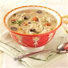 Mediterranean Chicken Soup