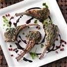 Mint-Pesto Lamb Chops