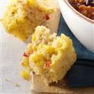 Moist Red Pepper Corn Bread