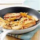 Onion-Apple Pork Chops