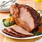 Orange-Glazed Ham