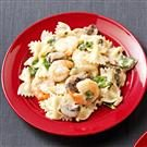 Pasta with Shrimp & Basil