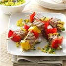 Peppered Tuna Kabobs