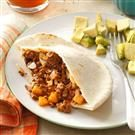 Picadillo in Pita Bread