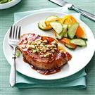 Pork Chops with Apricot Glaze