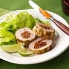 Pork Tenderloin with Cilantro-Lime Pesto