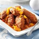 Pork with Peach Picante Sauce