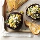 Portobello Mushrooms Florentine
