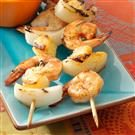 Quick Spicy Shrimp Kabobs