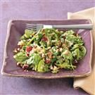 Quinoa Wilted Spinach Salad