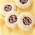 Raspberry-Almond Thumbprint Cookies