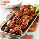 Raspberry Barbecue Wings