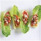 Savory Shrimp Salad Romaine Bites