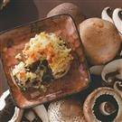 Risotto-Stuffed Portobellos