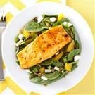 Salmon Spinach Salad