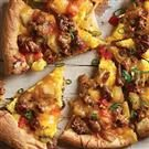 Sausage Breakfast Pizza