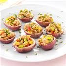 Sausage-Stuffed Red Potatoes