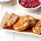 Savory Beer Pork Chops