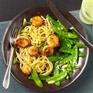 Scallops with Chipotle-Orange Sauce