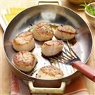Seared Scallops with Citrus Herb Sauce