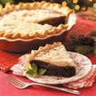 Shoofly Chocolate Pie