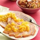 Slow-Cooked Ham with Pineapple Sauce