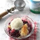 Slow Cooker Berry Cobbler