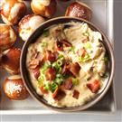 Slowcooker Cheddar Bacon Ale Dip