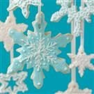 Snowflake Cookie Ornaments