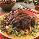 Southwest Rib Roast with Salsa