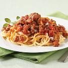 Spaghetti and Zesty Bolognese