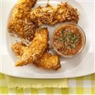 Spicy Coconut Chicken Strips