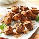 Spicy Peanut Chicken Kabobs
