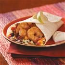 Spicy Shrimp Wraps