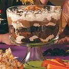 Spiderweb Brownie Trifle