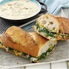 Spinach Po' Boy