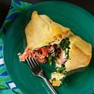 Spinach Salmon Bundles